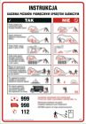 Instrukcja gaszenia pożarów podręcznym sprzętem gaśniczym - instrukcja ppoż - DB050
