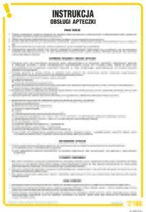 Instrukcja obsługi apteczki - IAA09