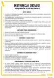 Instrukcja obsługi wciągników elektrycznych - IAG01 - Gdzie umieścić instrukcję BHP?