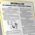 Instrukcja postępowania na stanowisku pracy z komputerem i drukarką - IAR01