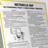 Instrukcja postępowania na stanowisku pracy z komputerem i drukarką - IAR01 - Gdzie umieścić instrukcję BHP?