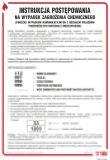 Instrukcja postępowania w razie zagrożeń chemicznych - instrukcja ppoż - DB018 - Czynniki chemiczne stwarzające zagrożenie a ocena ryzyka zawodowego