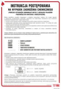 Instrukcja postępowania w razie zagrożeń chemicznych - instrukcja ppoż - DB018