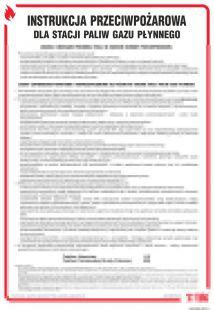 Instrukcja przeciwpożarowa dla stacji paliw gazu płynnego - instrukcja ppoż - DB029