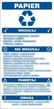 Instrukcja segregacji odpadów - papier - segregacja śmieci - PA085 - Segregacja śmieci: kolory, zasady sortowania i oznaczenia na koszach