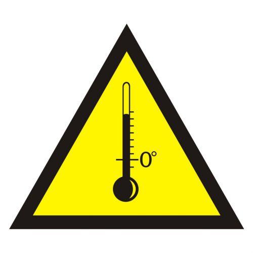 JA007 - Ostrzeżenie przed wysokimi temperaturami - znak bezpieczeństwa, ostrzegający - Przepisy dot. ogrzewania i wentylacji w miejscu pracy