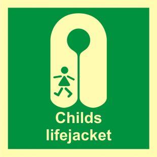 Kamizelka ratunkowa dla dzieci - znak morski - FB013