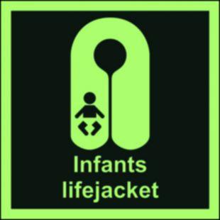 Kamizelka ratunkowa dla niemowląt - znak morski - FB014