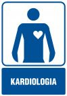 Kardiologia - znak informacyjny - RF018