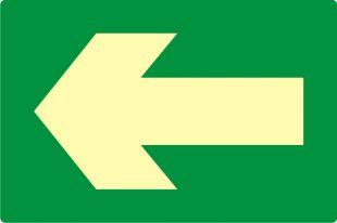 Kierunek drogi ewakuacyjnej
