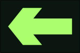Kierunek drogi ewakuacyjnej - znak ewakuacyjny - AC202
