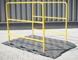 Kładka budowlana dla pieszych U-28 170x100x100 - Roboty prowadzone w chodniku – oznakowanie