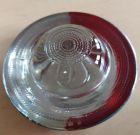 Kocie oczko - najezdniowy, punktowy element odblaskowy - szklany, wpuszczany - LUX 3 10cm biało/czerwony