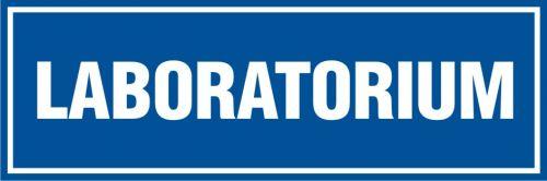 Laboratorium - znak informacyjny - PB060 - Laboratorium – BHP i prawidłowe oznaczenia