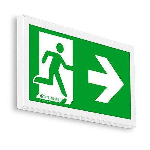 Lampa oprawa awaryjna LED - wskazująca kierunek ewakuacji ONTEC E - Minimalne wymagania dla komunikatów werbalnych