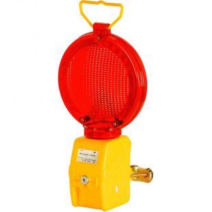 Lampa zmierzchowa ostrzegawcza drogowa U-35 - MINISTAR 1000 - czerwona