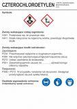 LC009 - Czterochloroetylen - etykieta chemiczna, oznakowanie opakowania - Etykiety CLP – transport materiałów niebezpiecznych