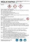 LC019 - Węglik wapnia - etykieta chemiczna, oznakowanie opakowania