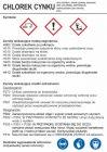 LC026 - Chlorek cynku - etykieta chemiczna, oznakowanie opakowania