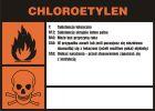 LC027 - Chloroetylen - etykieta chemiczna, oznakowanie opakowania