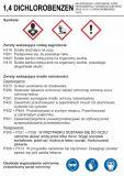 LC028 - 1,4 Dichlorobenzen - etykieta chemiczna, oznakowanie opakowania - Obrót wyrobami pirotechnicznymi – obowiązki pracodawcy