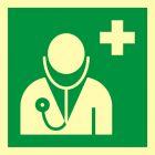 Lekarz - znak ewakuacyjny - AAE009