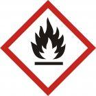LF002 - Produkt łatwopalny - znak piktogram GHS 02 CLP