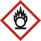 LF003 - Produkt utleniający - znak piktogram GHS 03 CLP - Norma GHS (Globally Harmonized System), rozporządzenie CLP