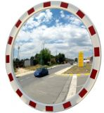 Lustro drogowe - okrągłe, akrylowe - Zastosowanie urządzeń bezpieczeństwa ruchu drogowego