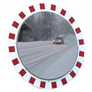 Lustro drogowe - okrągłe, odporne na szron i parę