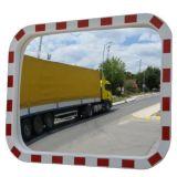 Lustro drogowe - prostokątne, akrylowe - Zastosowanie urządzeń bezpieczeństwa ruchu drogowego