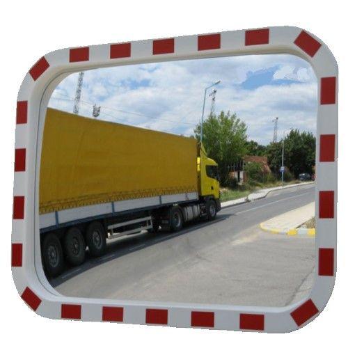 Lustro drogowe - prostokątne, akrylowe - Lustra drogowe – zastosowania, przepisy i rodzaje