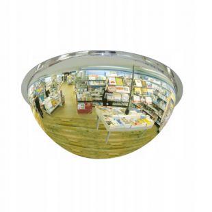 Lustro przemysłowe magazynowe - sferyczne 1/2 kuli, akrylowe