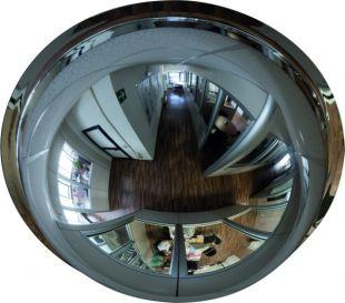 Lustro przemysłowe - sferyczne 1/2 kuli, akrylowe