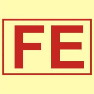 Magazyn sprzętu pożarniczego - znak morski - FA058