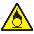 Materiały utleniające - znak przeciwpożarowy ppoż - BA015