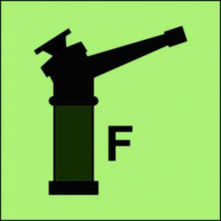 Monitor (F-piana) - znak morski - FI091