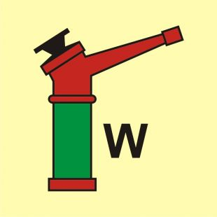 Monitor (W-woda) - znak morski - FI093