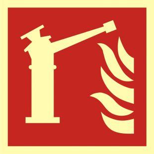 Monitor - znak przeciwpożarowy ppoż - BAF015