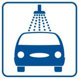 Myjnia - znak stacje benzynowe - SB010 - Stacja benzynowa – jak powinna być oznaczona?