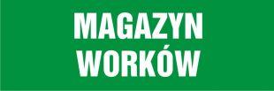 NA110 - Magazyn worków - znak informujący