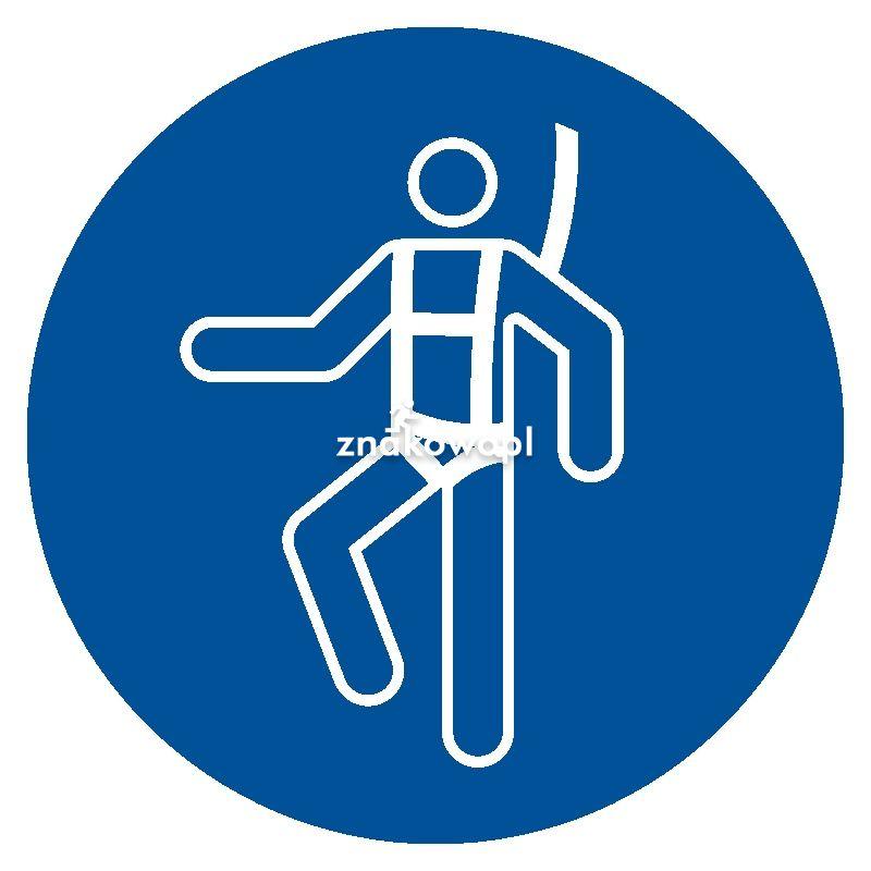 Nakaz stosowania szelek bezpieczeństwa - Plac budowy – znaki i tablice
