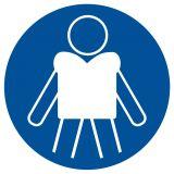 Nakaz zakładania kamizelek ratunkowych - znak, kąpieliska - OH020 - Regulamin kąpieliska