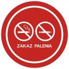 NE034 - Zakaz palenia tytoniu i papierosów elektronicznych 3 - znak zakazujący, informujący