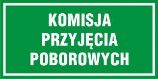 NF010 - Komisja przyjęcia poborowych - znak, tablica wojskowa