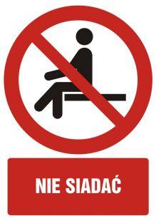 Nie siadać