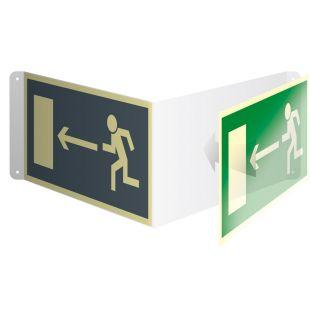 Nośnik prostokątnych znaków 3D gięty