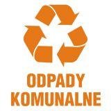 Odpady komunalne 1 - znak informacyjny, segregacja śmieci - PA056 - Segregacja śmieci: kolory, zasady sortowania i oznaczenia na koszach