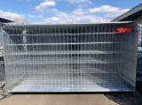 Ogrodzenie budowlane tymczasowe - ażurowy płot przestawny - Urządzenia zabezpieczające imprezy masowe