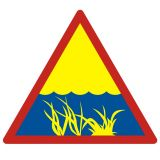 OH001 - Wodorosty - znak, kąpieliska - Regulamin kąpieliska